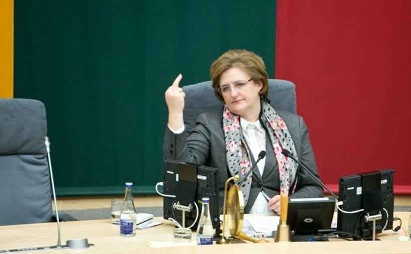 Loreta Graužinienė valdo (tiek tiesiogine, tiek perkeltine prasme)